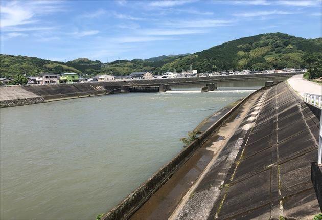 5月21日の江ノ口・鴨田堰