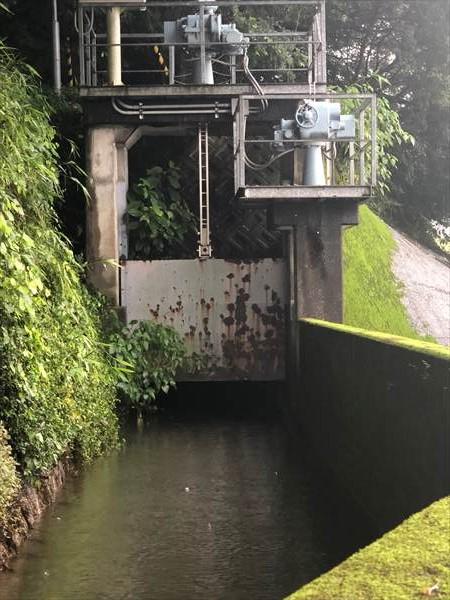 上本宮第一水門